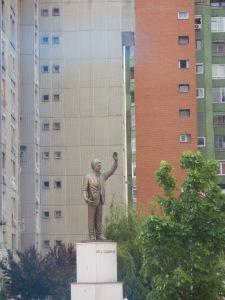 Prishtina's statue to Bill Clinton